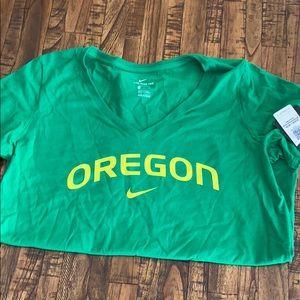 Oregon Ducks women's Nike tee, size Medium, NWT